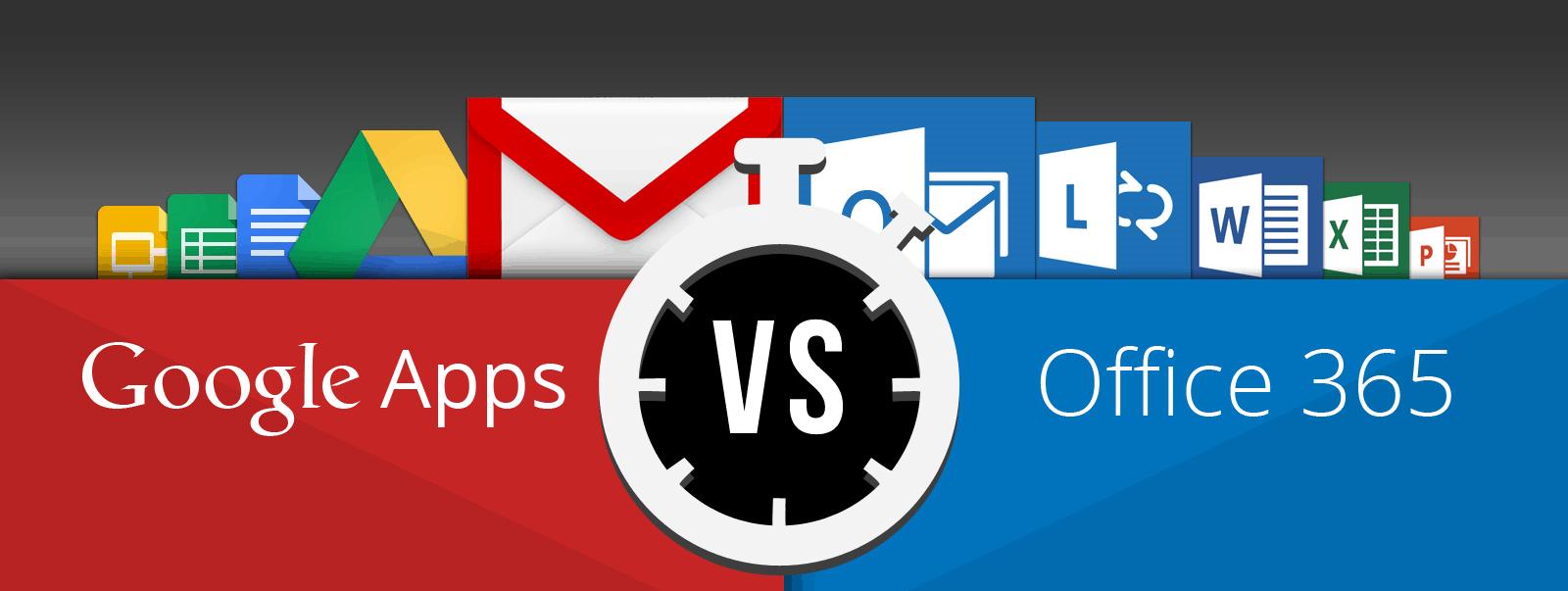 Office 365 vs. Google Apps